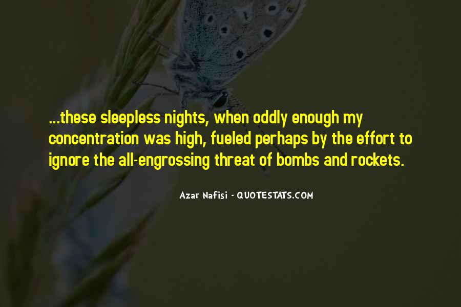 My Nights Are Sleepless Quotes #1185482