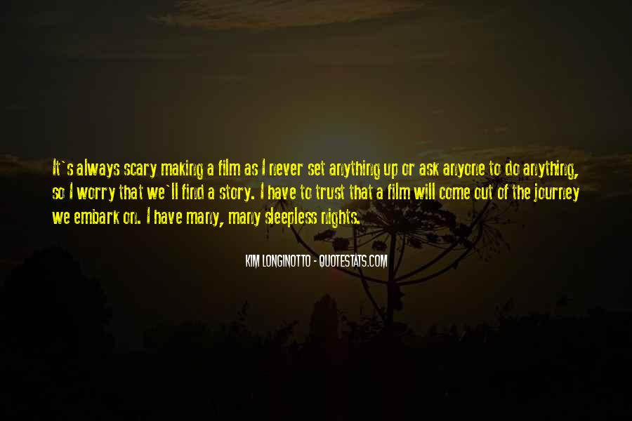 My Nights Are Sleepless Quotes #471304