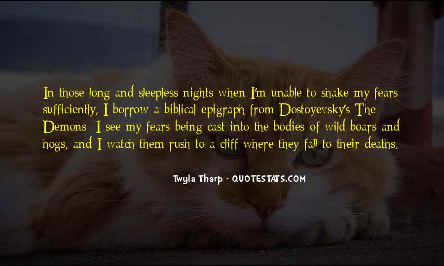 My Nights Are Sleepless Quotes #699200