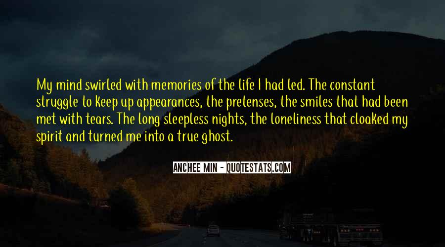 My Nights Are Sleepless Quotes #736226