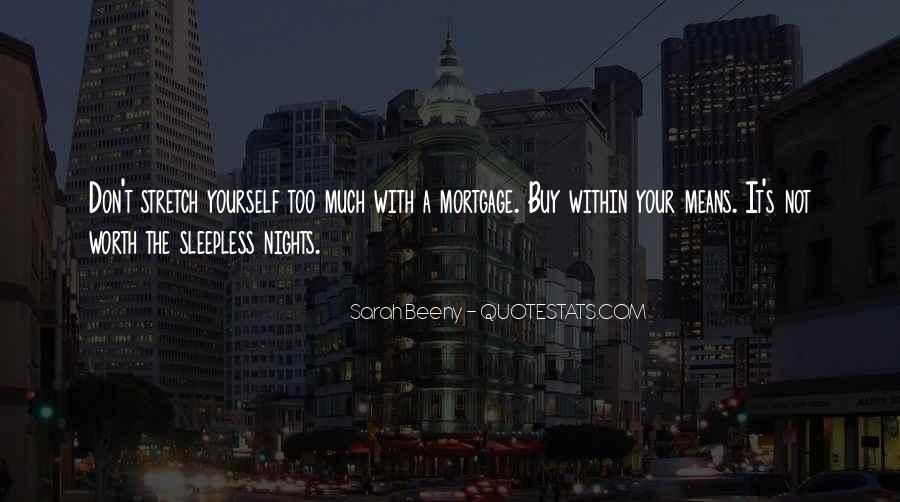 My Nights Are Sleepless Quotes #764117