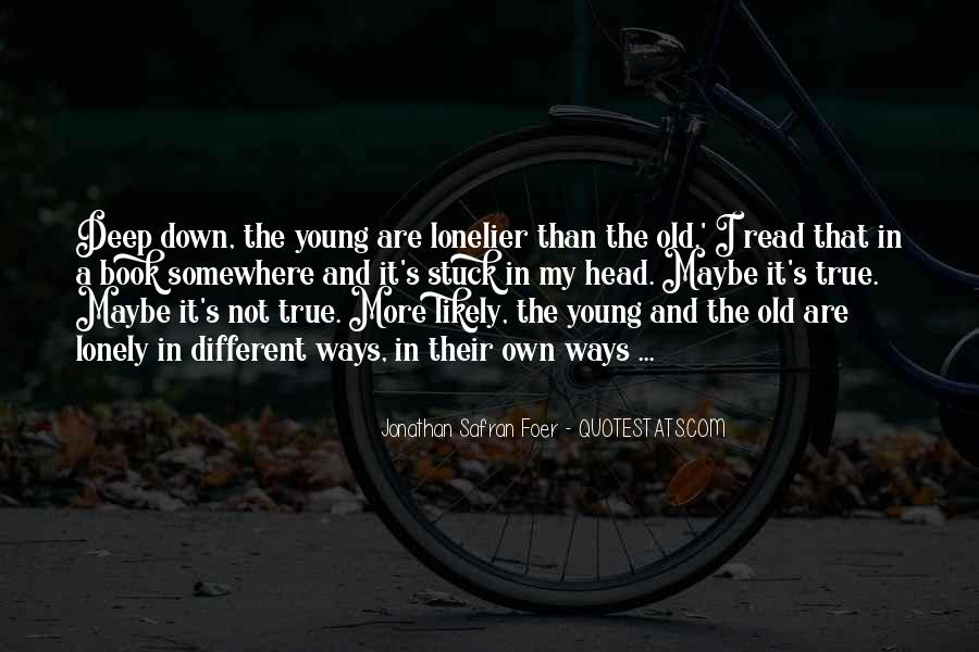 My Old Ways Quotes #558506