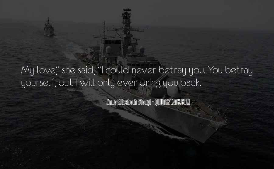 My Only Love Quotes #221343