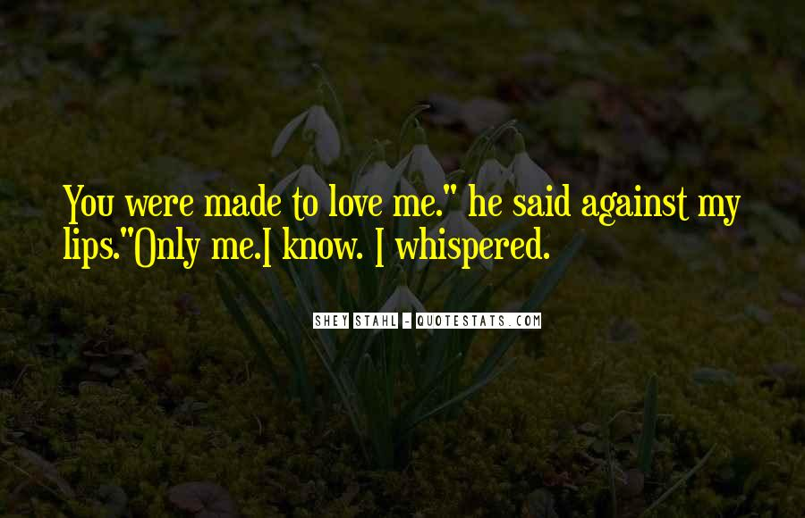 My Only Love Quotes #46294