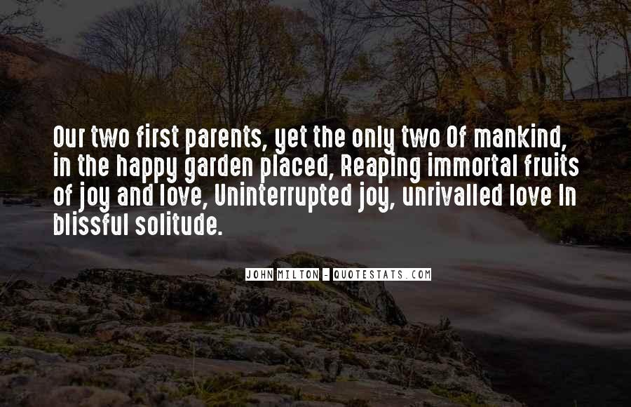 My Parents Love For Each Other Quotes #33734