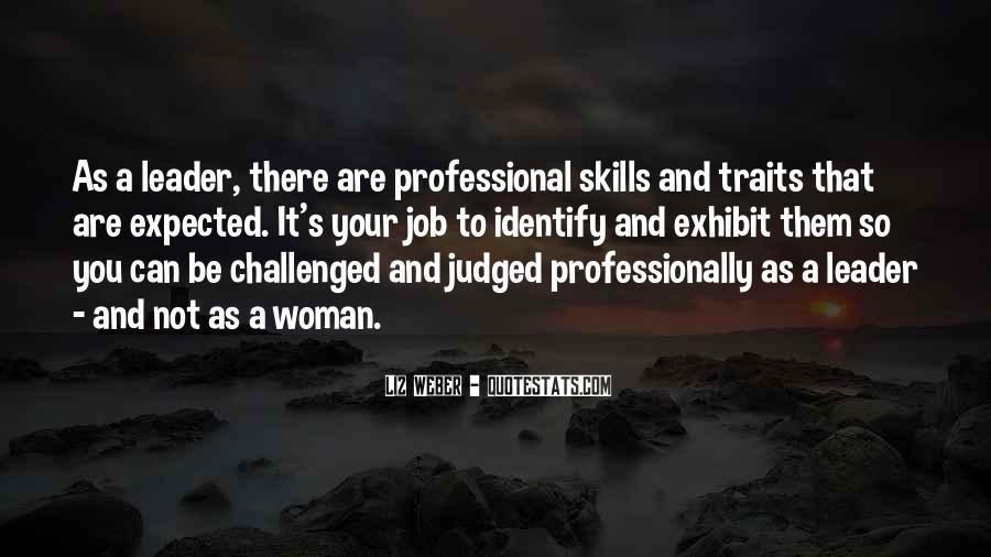 My Professional Skills Quotes #1270696