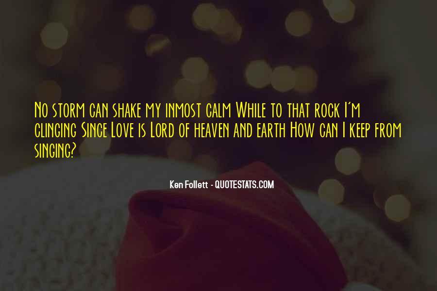 My Rock Love Quotes #1230469