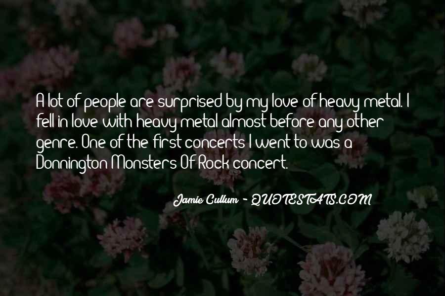My Rock Love Quotes #1339114