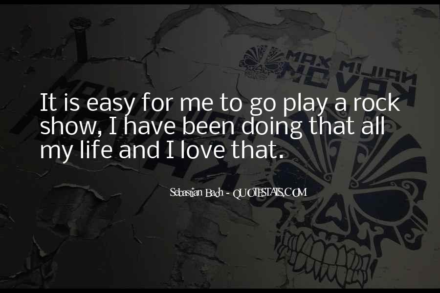 My Rock Love Quotes #1465760