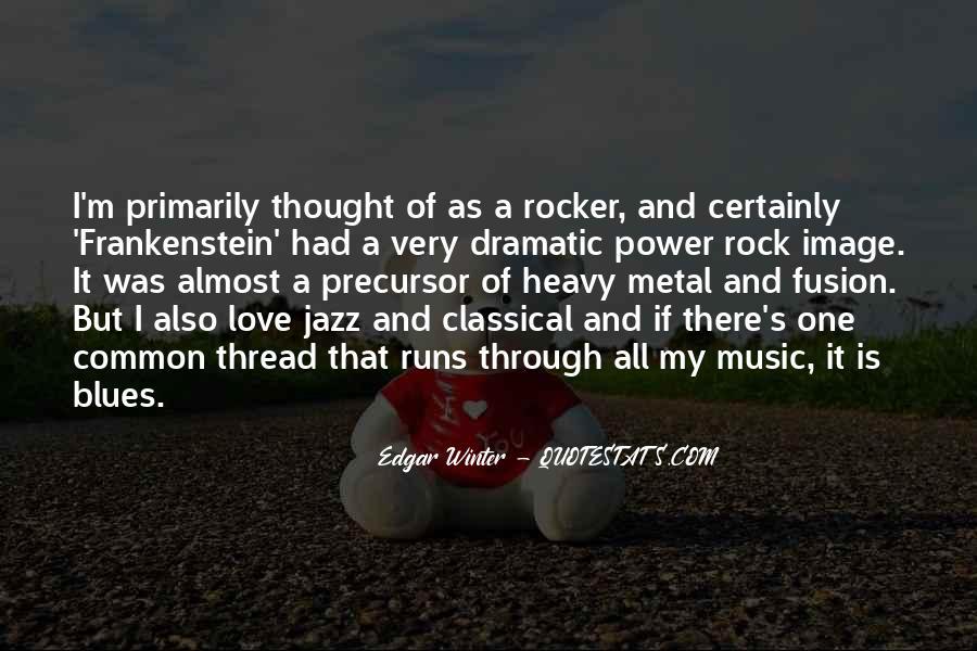 My Rock Love Quotes #1482028