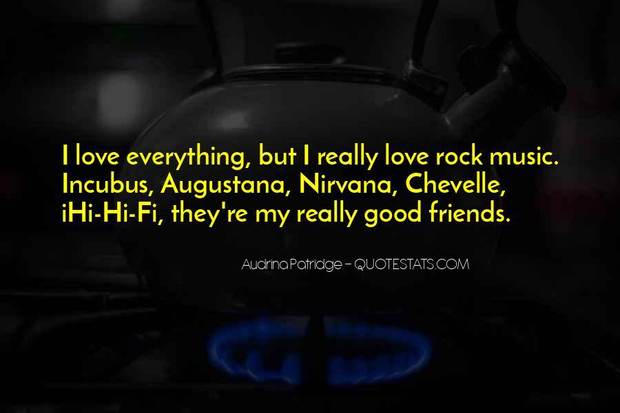 My Rock Love Quotes #1761937