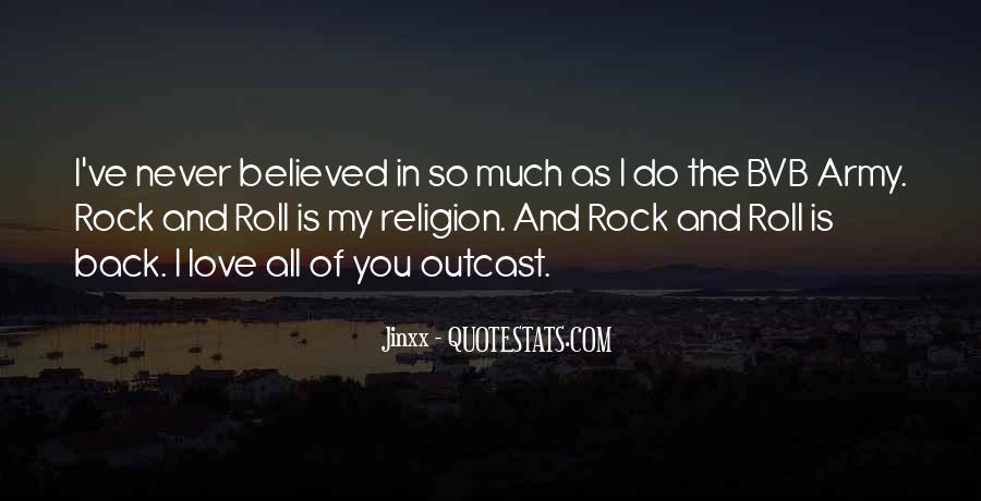 My Rock Love Quotes #28576