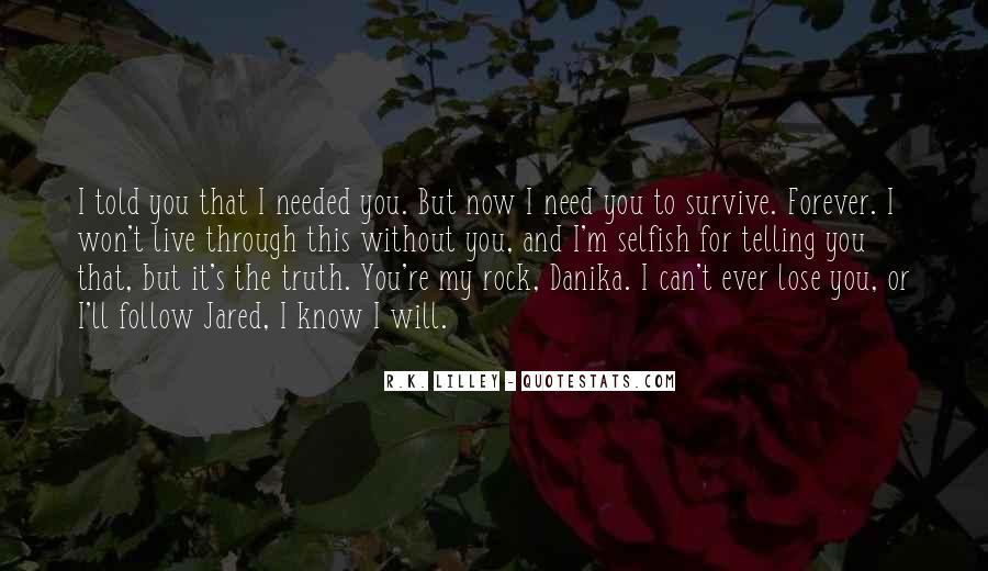 My Rock Love Quotes #588946