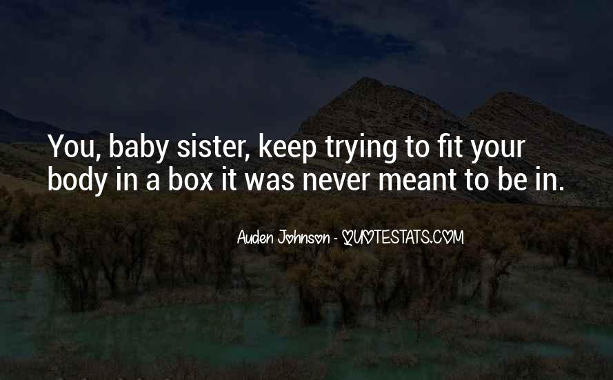 My Sister Is My Inspiration Quotes #1707772