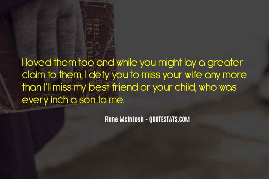 My Son My Quotes #43590
