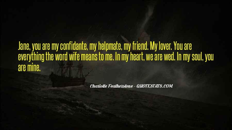 My Soulmate Love Quotes #1621807