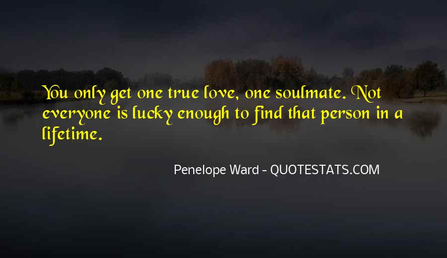 My Soulmate Love Quotes #795005