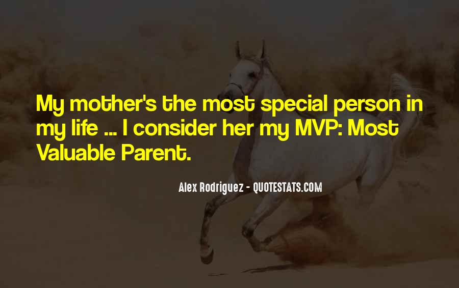 My Special Person Quotes #1661508