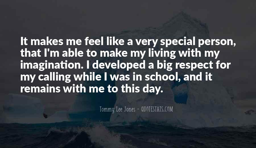 My Special Person Quotes #657215