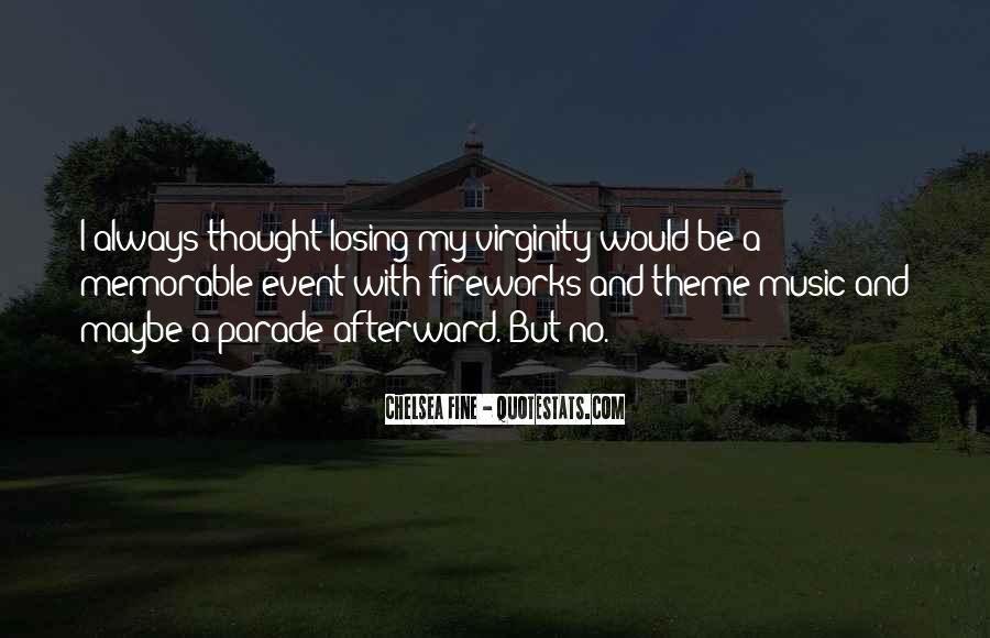 My Virginity Quotes #155827