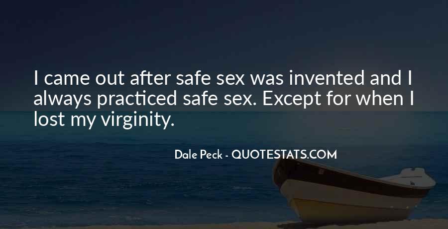 My Virginity Quotes #1614707