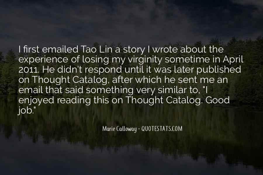My Virginity Quotes #1620615