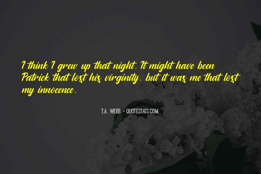 My Virginity Quotes #1703672