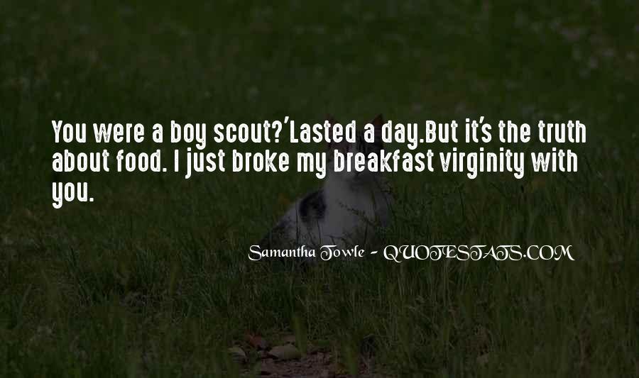 My Virginity Quotes #1782573