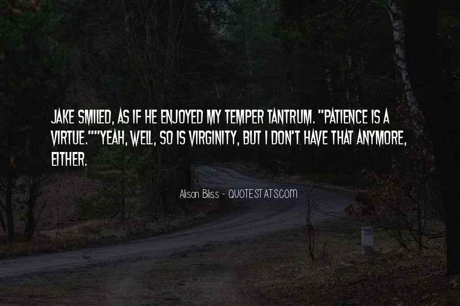 My Virginity Quotes #935175