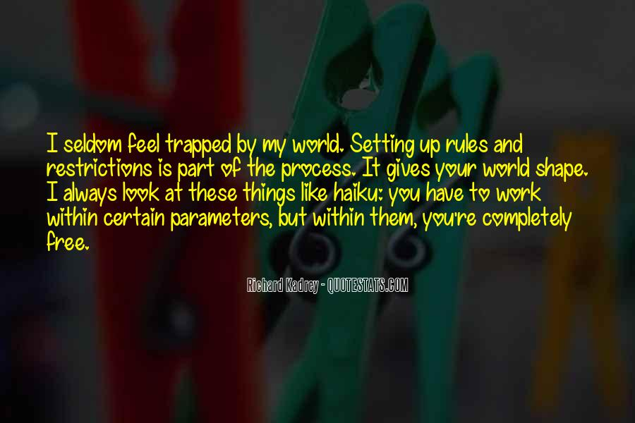 My World My Rules Quotes #1799894