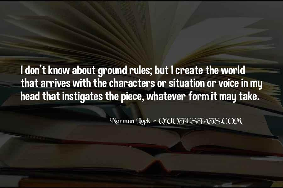 My World My Rules Quotes #693765