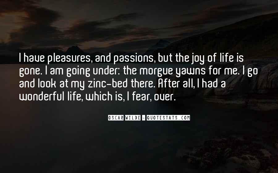 My Zinc Bed Quotes #398050