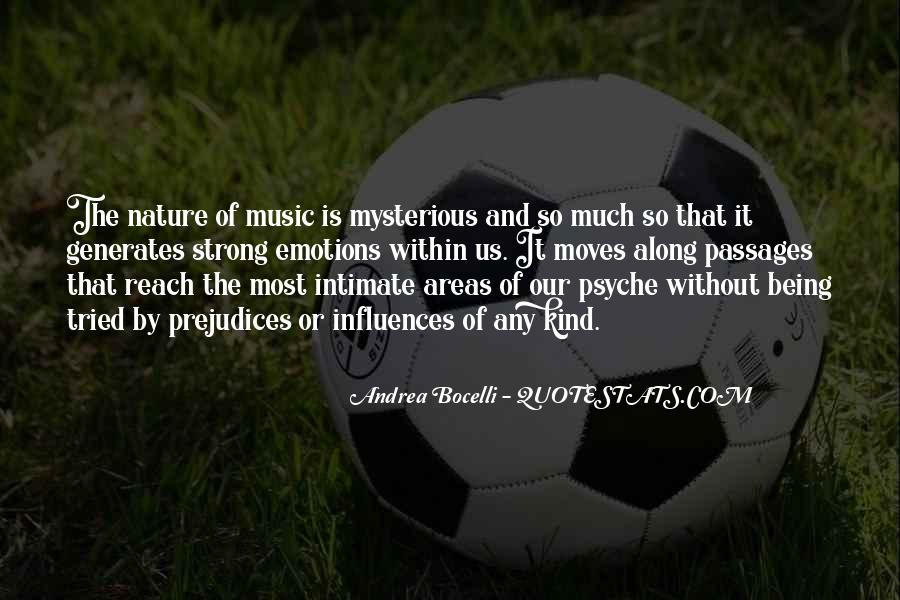 Mysterious Being Quotes #100761