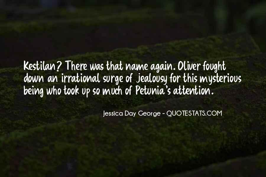 Mysterious Being Quotes #519547