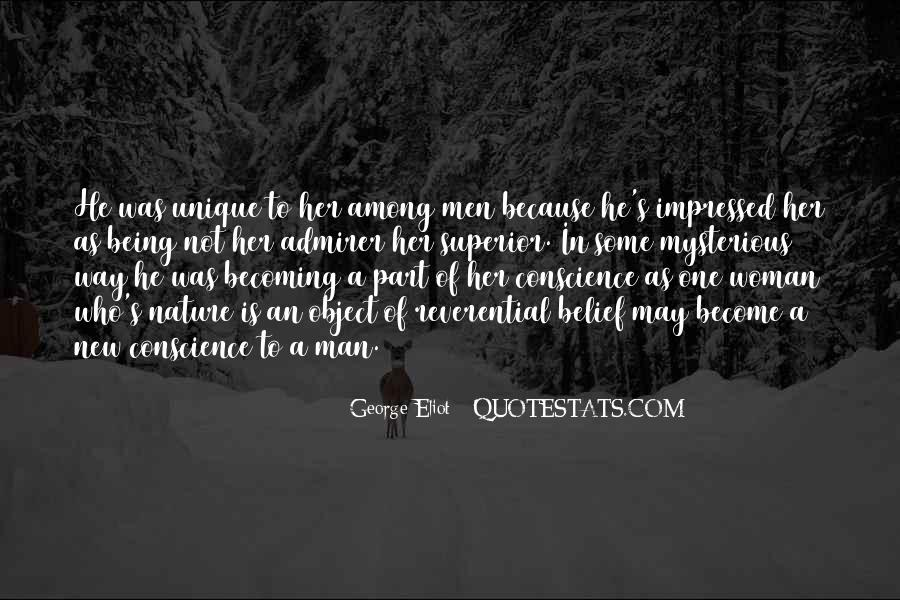Mysterious Being Quotes #87945