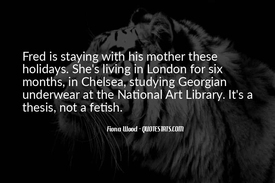 Quotes About Chelsea London #1345676