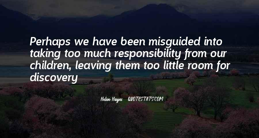 Quotes About Taking Responsibility For Your Children #364602