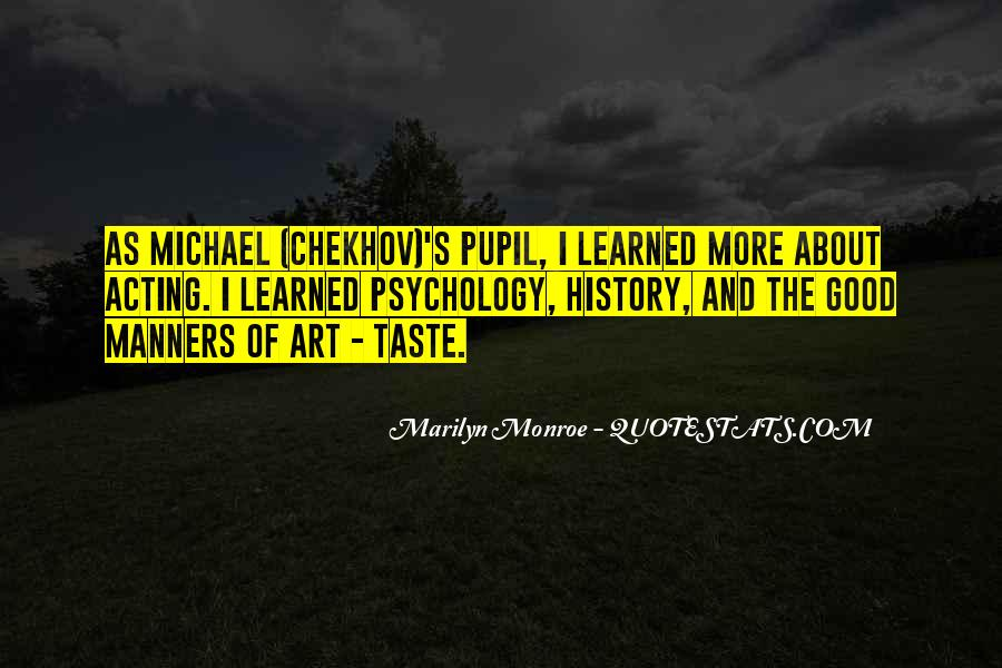 Quotes About Chekhov Acting #1355078