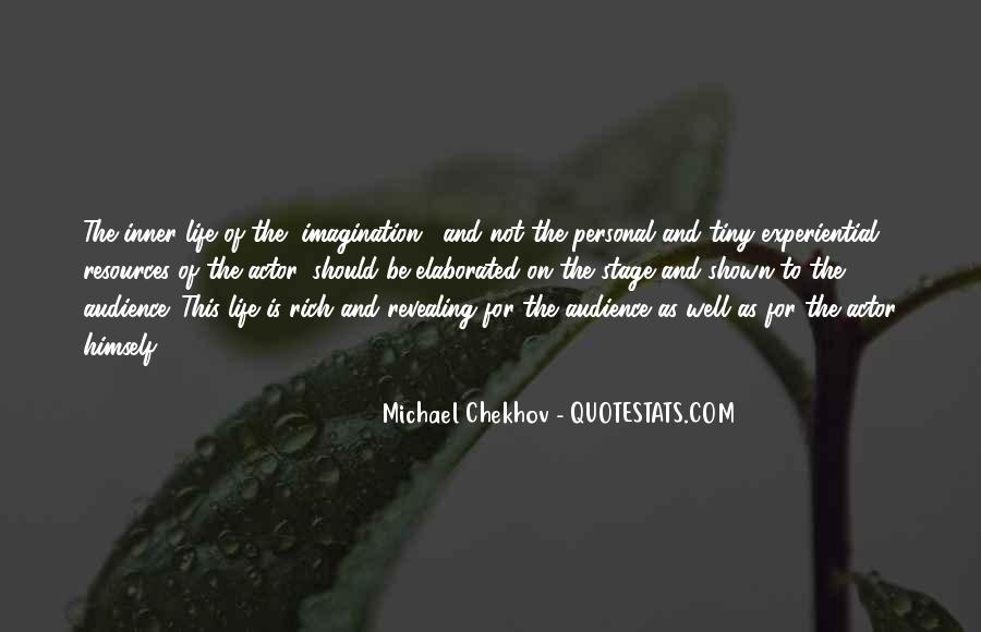 Quotes About Chekhov Acting #1526153