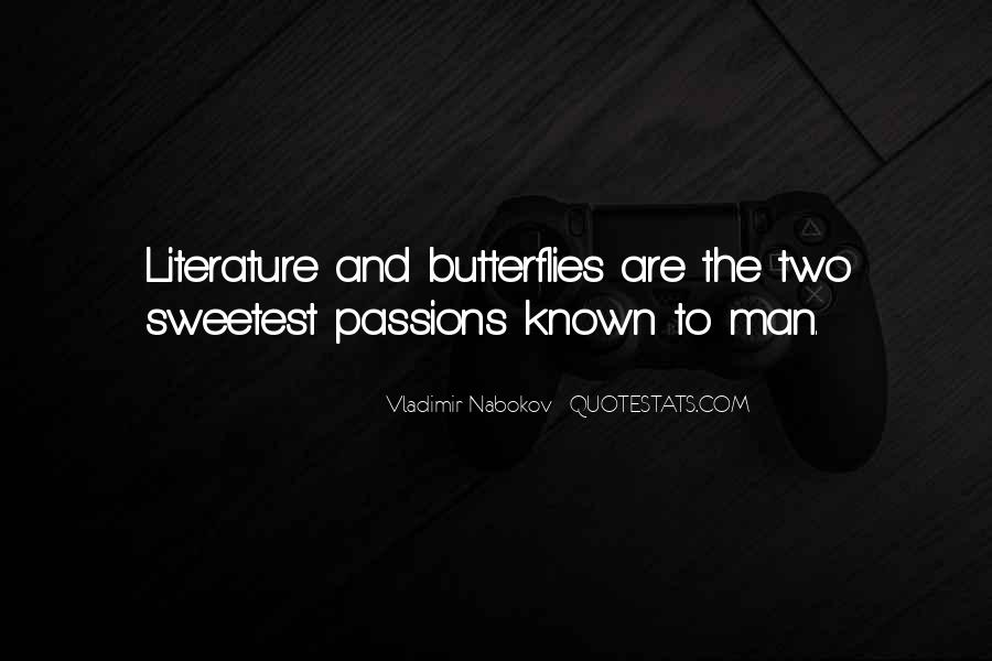 Nabokov Butterflies Quotes #72910