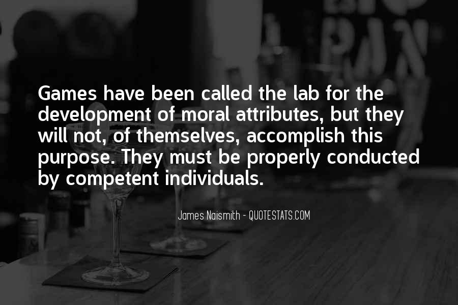 Naismith Quotes #509543