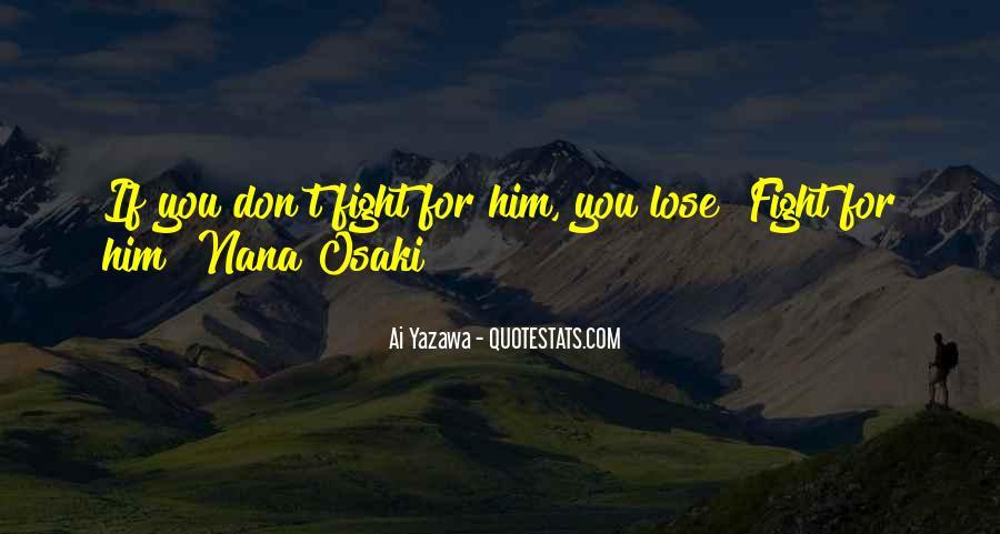 Nana Osaki Quotes #1347568