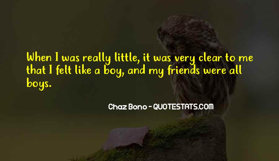 Quotes About Chaz #703785