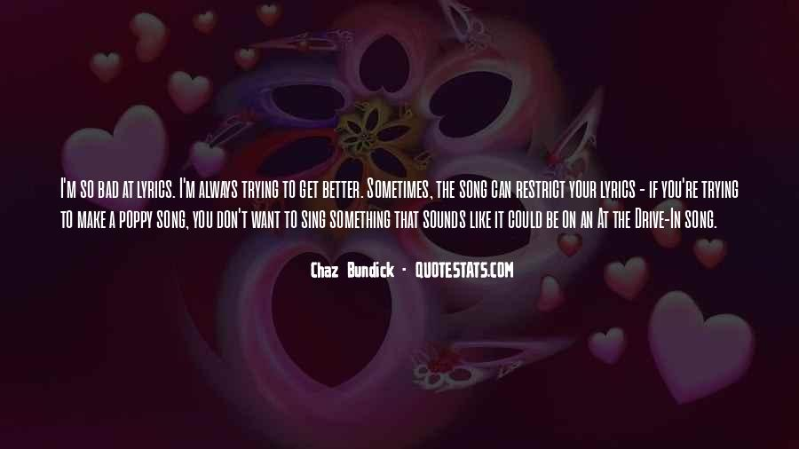 Quotes About Chaz #922790