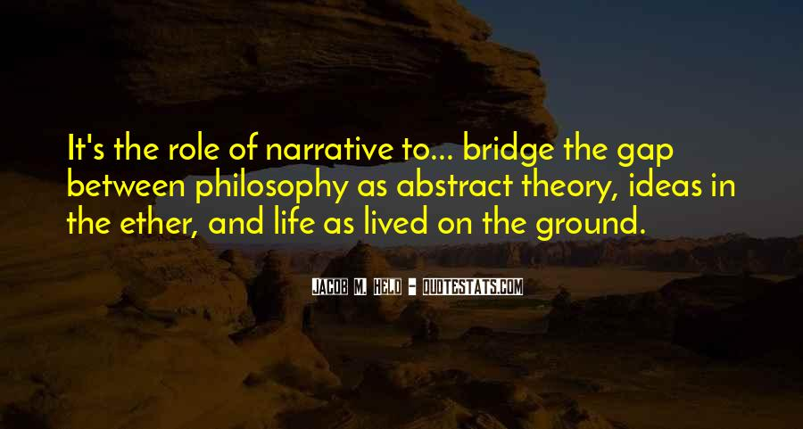 Narrative Theory Quotes #1242439