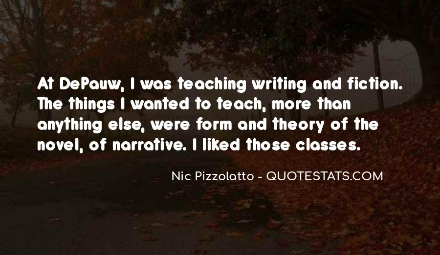 Narrative Theory Quotes #551084