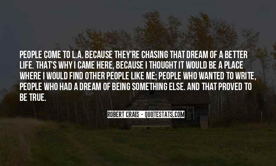 Quotes About Chasing People #33811