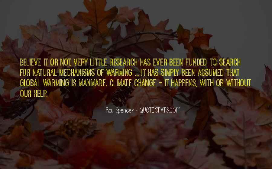Natural Vs Manmade Quotes #369705
