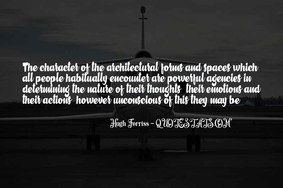 Nature And Architecture Quotes #1287785