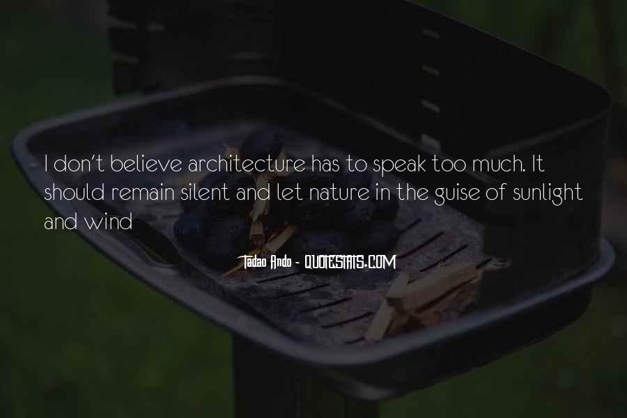 Nature And Architecture Quotes #1369711